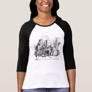 Little girls playing house etching T-Shirt