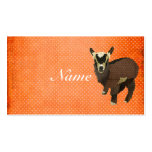 Little Goat Polkadot Business Card/Tags Pack Of Standard Business Cards