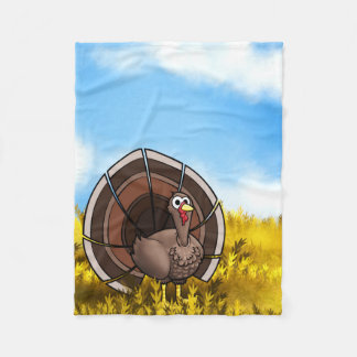 Little Gobble Gobble Gobble! Fleece Blanket