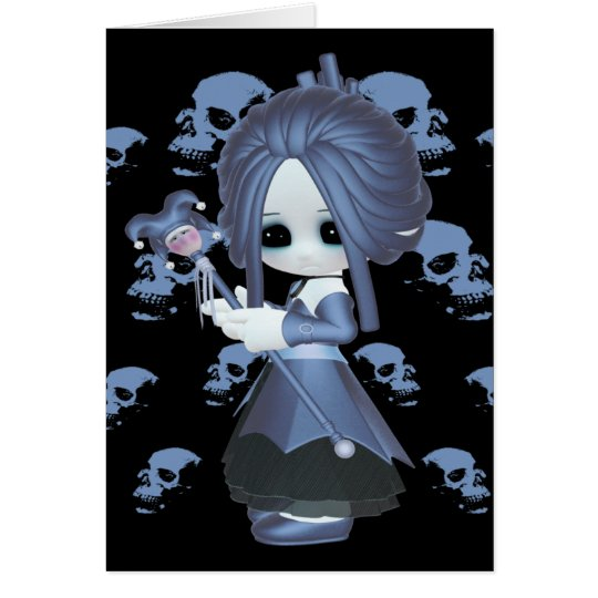 Little Gothic Stacy Card