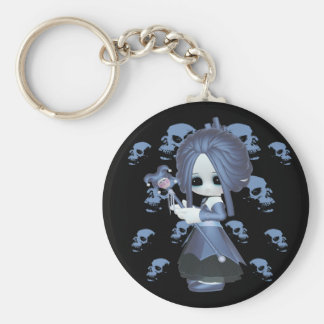 Little Gothic Stacy Key Ring