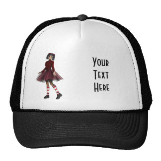 Little Gothy Girl Cap