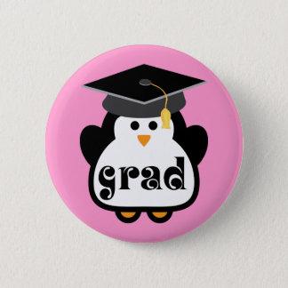 Little Grad Penguin Graduation Gift 6 Cm Round Badge