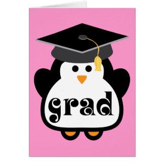 Little Grad Penguin Graduation Gift Cards