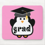 Little Grad Penguin Graduation Gift Mouse Mats