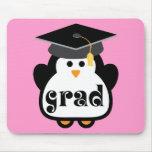 Little Grad Penguin Graduation Gift Mouse Pad