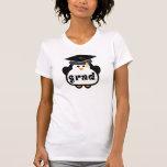 Little Grad Penguin Graduation Gift T Shirts