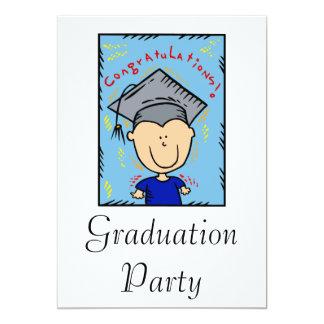 Little Graduate 13 Cm X 18 Cm Invitation Card