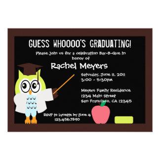 Little Graduate Owl Invite