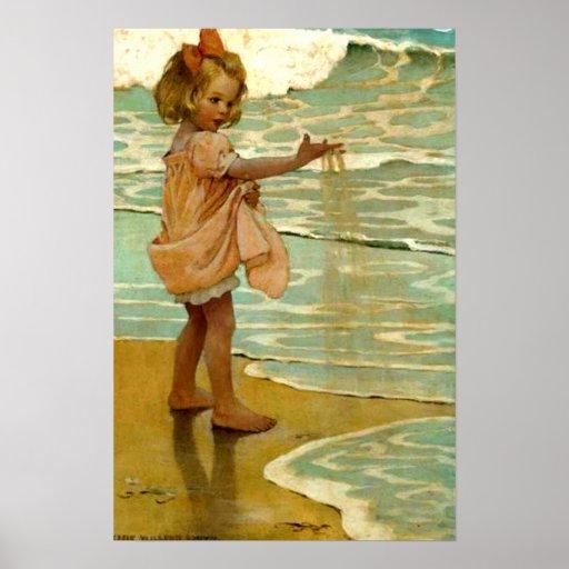 'Little Grains of Sand' Poster