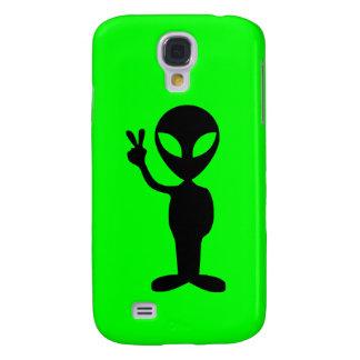 Little Green Alien Galaxy S4 Case