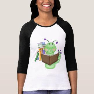 Little Green Bookworm Tee Shirt