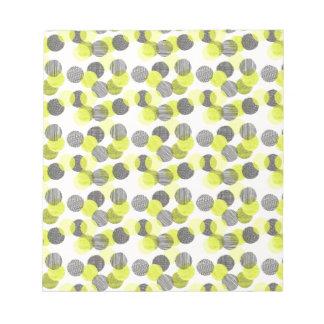 Little Green Dots Notepad