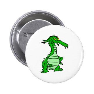 little green dragon button