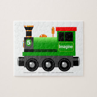 Little Green Engine Puzzle