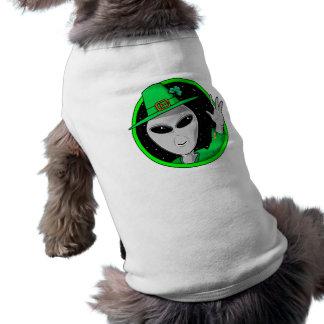 Little Green Fractals Pet Clothing