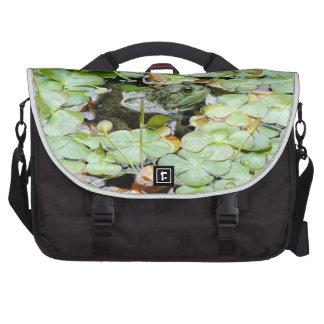 Little Green Frog Rickshaw Commuter Laptop Bag
