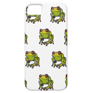 Little green frogs barely there iPhone 5 case