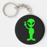 Little Green Man Keychains