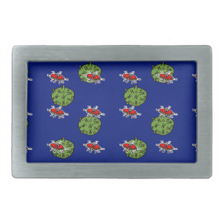 little green men and little green planets belt buckles