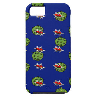 little green men and little green planets iPhone 5 cover