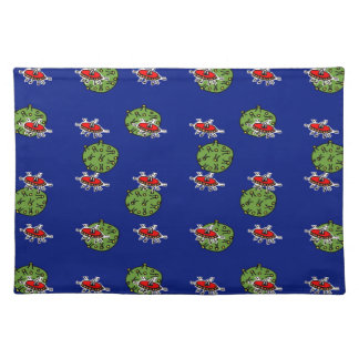 little green men and little green planets placemats