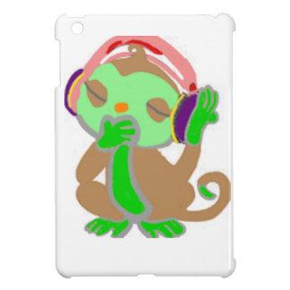 Little green monkey iPad mini cover