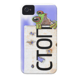 Little Green Tree Frog iPhone 4 Covers