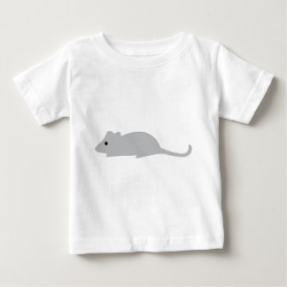 little grey mouse baby T-Shirt