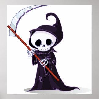 Little Grim Reaper Poster