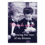 Little grooms greeting card