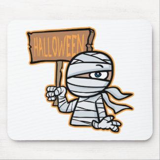 Little Halloween Mummy Mouse Pad