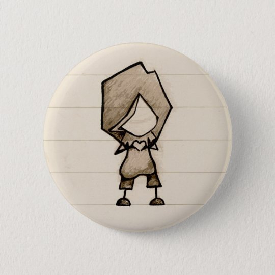 Little Hand Heart 6 Cm Round Badge