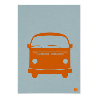 Little Happy Bus Poster