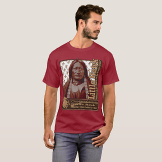 Little Hawk Oglala Lakota Warrior T-Shirt