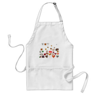 little hearts collection aprons