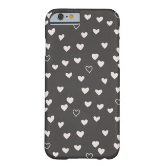 Little Hearts Phone Case - Ivory Barely There iPhone 6 Case