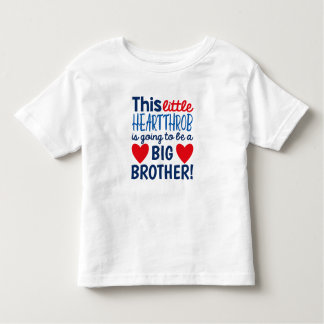Little Heartthrob Pregnancy Announcement T-Shirt