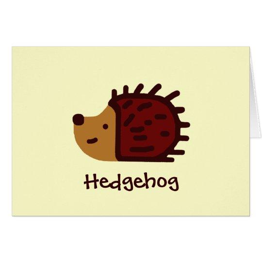 Little Hedgehog! Card