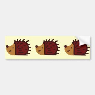 Little Hedgehogs! Bumper Sticker