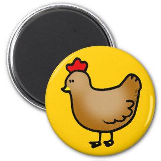 Little hen fridge magnets