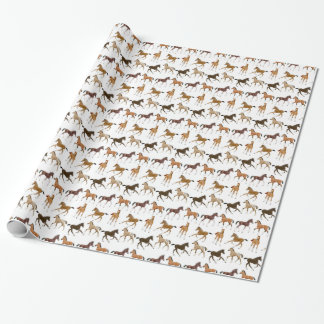 Little Horse Foals Wrapping Paper