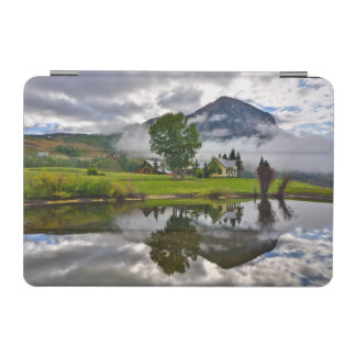Little House in Mist on Lake iPad Mini Cover