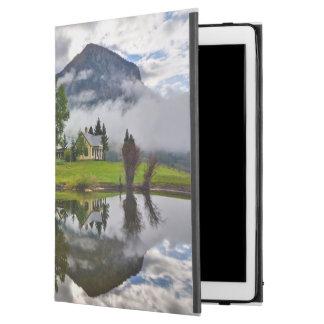 """Little House in Mist on Lake iPad Pro 12.9"""" Case"""