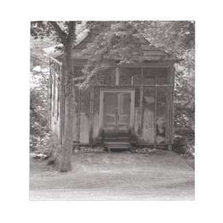 Little house in the woods notepad