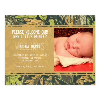 Little Hunter | Birth Announcements