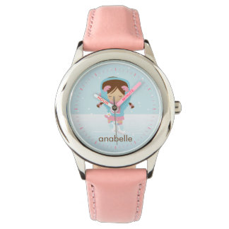 Little Ice Skater {pink} Wristwatches
