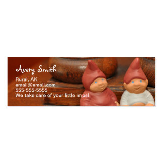 Little imp business cards