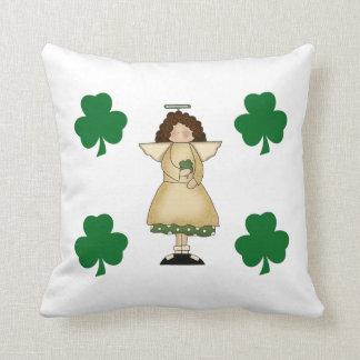 Little Irish Angel Throw Pillows