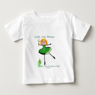 Little Irish Princess - My First St. Patrick's Day Baby T-Shirt